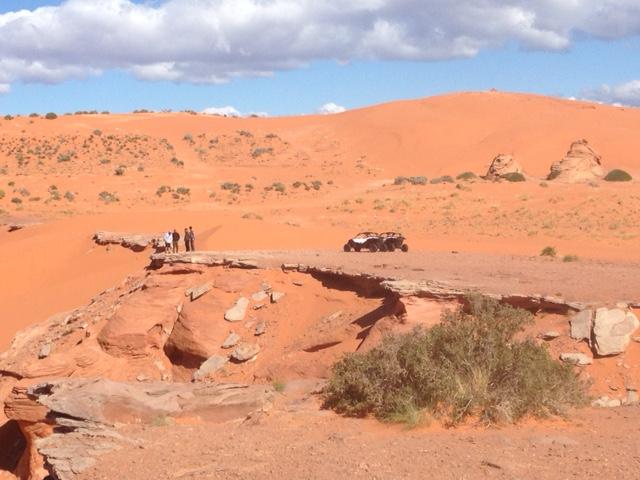 real men, real dunes