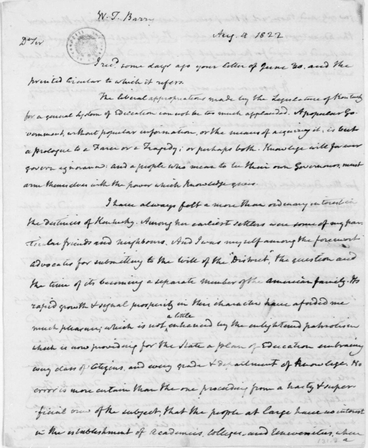 madison document