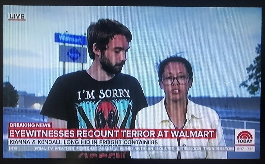 Texas Shooting Witness on Morning News