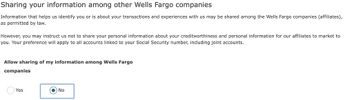 Wells Fargo Site