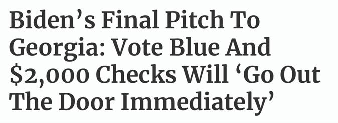 Biden Article Headline